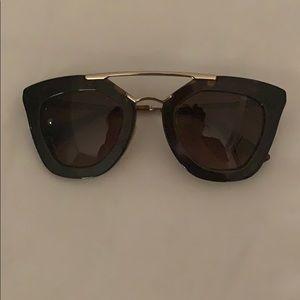 Prada Cinema sunglasses in tortoise